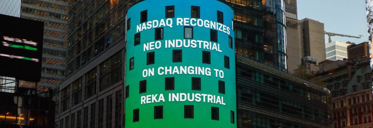 Parent company Neo Industrial changes its name to Reka Industrial
